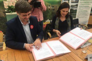 La transition sociale-écologique dans cinq villes françaises